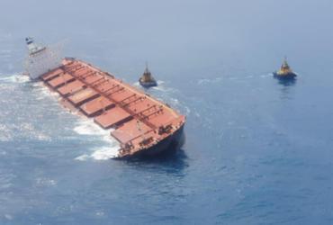 Ibama identifica óleo próximo a navio encalhado na costa do Maranhão | Divulgação