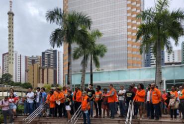 Petroleiros protestam na Pituba e consideram arbitrária decisão do TST | CSP Conlutas | Divulgação
