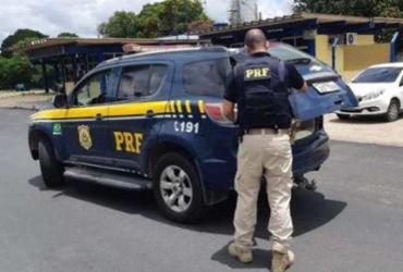 Suspeito de homicídio é preso em abordagem na BR-101 | Divulgação | PRF