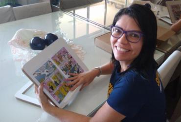 Professora de Direito cria revista em quadrinhos sobre a Constituição Federal
