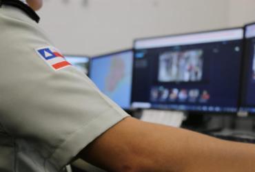 Suspeito de roubo é flagrado pela tecnologia da SSP | Divulgação | SSP