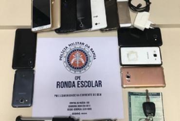 Ronda Escolar recupera aparelhos celulares roubados | Divulgação