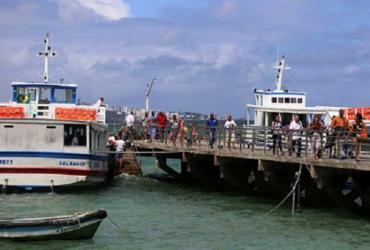 Maré baixa suspende temporariamente travessia Salvador-Mar Grande | Joá Souza | Ag. A TARDE