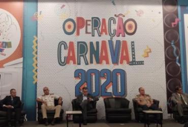 Governo do estado lança Operação Carnaval 2020 | Natália Figueiredo | Ag. A TARDE