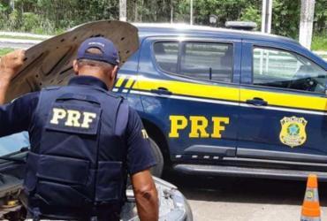Servidor público é flagrado conduzindo carro roubado em Texeira de Freitas | Divulgação | PRF