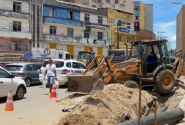 Abastecimento de água é suspenso em bairros de Salvador | Divulgação
