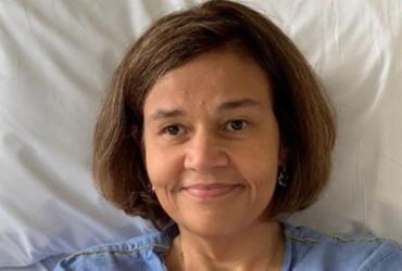 Atriz Claudia Rodrigues está internada na UTI | Reprodução | Redes Sociais