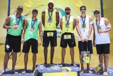 Vôlei de praia: baiano Ricardo fatura prata na etapa de Maceió | Divulgação | CBV