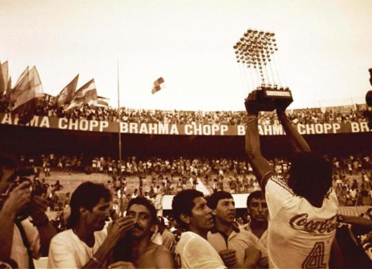 Segundo título do Bahia completa 31 anos; relembre fotos históricas | Cedoc | Arquivo A TARDE
