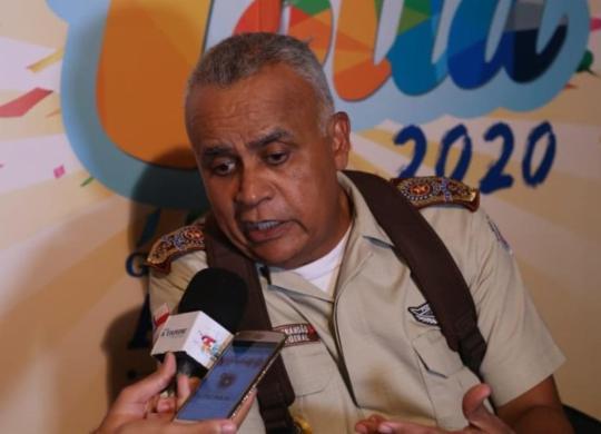 Comandante-geral rebate críticas de que PM da Bahia faz política de extermínio | Ag. ATARDE