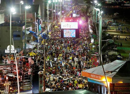 Confira a programação do Carnaval de Salvador para esta sexta-feira | Adilton Venegeroles | Ag. A TARDE
