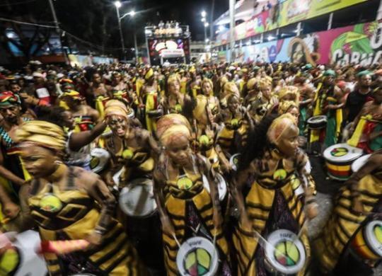 Olodum tem batuque comandado por uma mulher | Felipe Iruatã | Ag. A TARDE