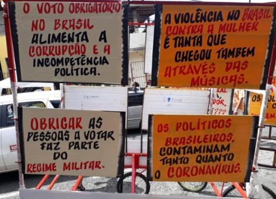 Política, corrupção, machismo e LGBTFobia estão entre os alvos na Mudança do Garcia | Aparecido Silva | Ag. A TARDE