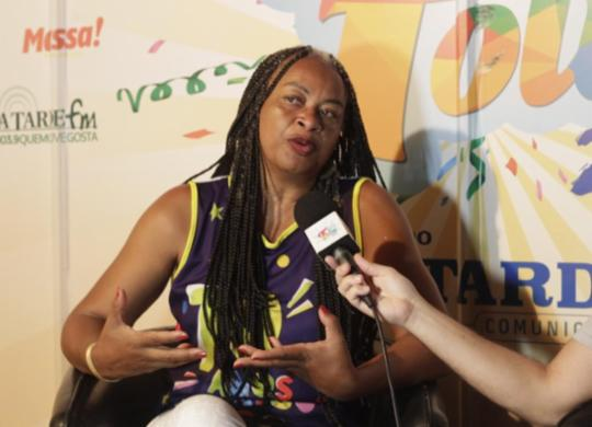 Esquerda soteropolitana não deve buscar alternativas fora da política, defende Olivia Santana | Ag. A TARDE