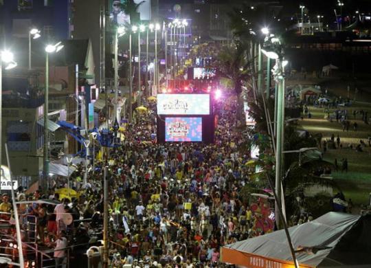 Confira a programação completa do Carnaval nesta segunda-feira | Adilton Venegeroles | Ag. A TARDE