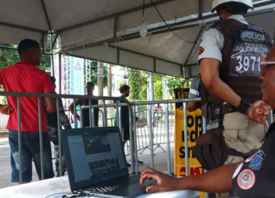 42 pessoas são presas no carnaval de Salvador após reconhecimento facial | Divulgação