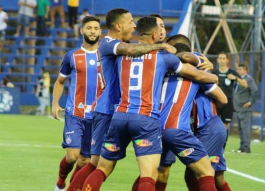 Bahia faz história, vence o Nacional-PAR e avança à segunda fase | Divulgação | EC Bahia