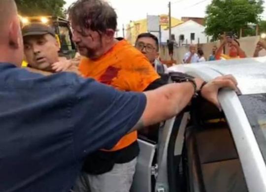 Senador Cid Gomes, irmão de Ciro, é baleado durante protesto de policiais no Ceará | Reprodução