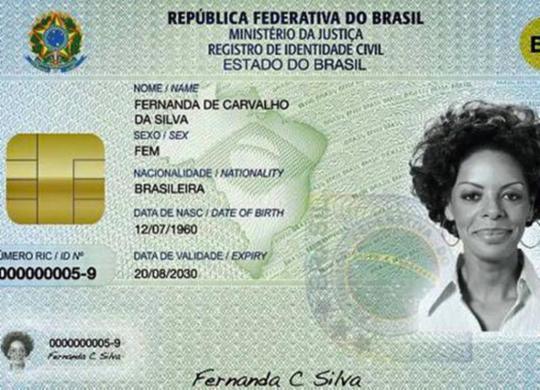 Governo prorroga prazo para aplicação da nova carteira de identidade   Divulgação   TSE