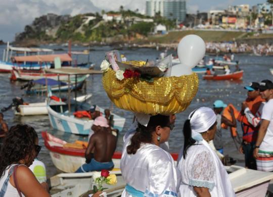 Festa de Iemanjá deverá ter o mesmo esquema de segurança da Lavagem do Bonfim | Adilton Venegeroles | Ag. A TARDE