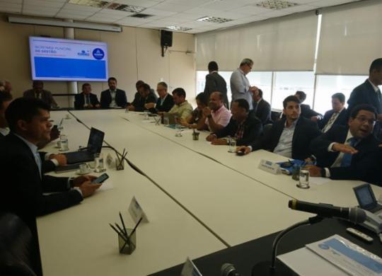 PEC da Previdência dos servidores é apresentada na sede da prefeitura de Salvador | Raul Aguillar | Ag. A TARDE