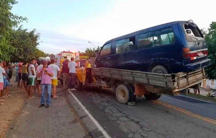 PRF vai apurar causa do acidente   Foto: Reprodução   Verdinho Notícias - Foto: Reprodução   Verdinho Notícias