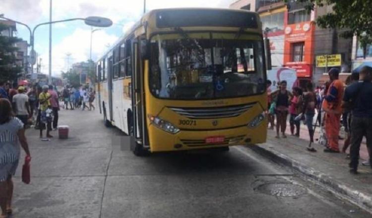 Ônibus da Integra atropela pedestre no Largo do Luso | Foto: Reprodução | WhatsApp - Foto: Reprodução