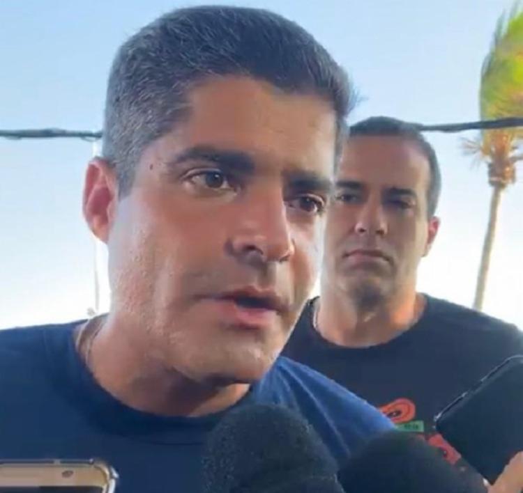Prefeito condenou 'banana' de Bolsonaro a jornalistas | Foto: Divulgação | Cidadão Repórter - Foto: Cidadão Repórter