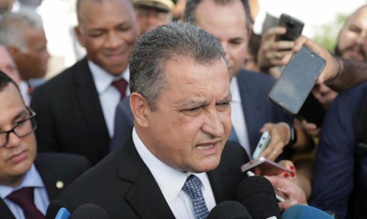 Governador Rui Costa garante que video postado por Flávio Bolsonaro é falso. Foto: Uendel Galter   AG. A TARDE - Foto: Uendel Galter   AG. A TARDE