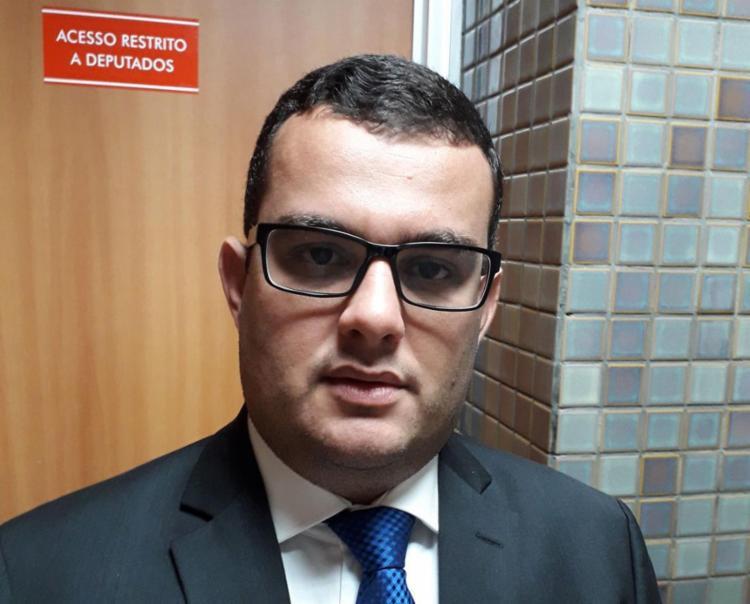 Irmão de vereador dono de sítio, o deputado estadual Alex Lima (PSB) falou sobre o caso   Uendel Galter   Ag. A TARDE - Foto: Uendel Galter   Ag. A TARDE