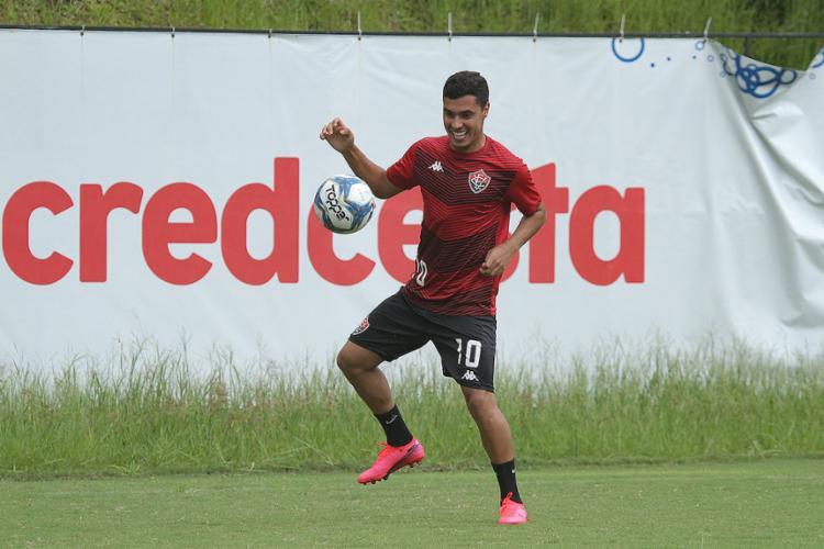 Alisson Farias retorna de lesão após três jogos fora | Foto: Letícia Martins | EC Vitória - Foto: Letícia Martins | EC Vitória