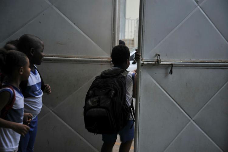 Rede municipal dispõe 435 escolas | Foto: Felipe Iruatã | Ag. A TARDE - Foto: Felipe Iruatã | Ag. A TARDE