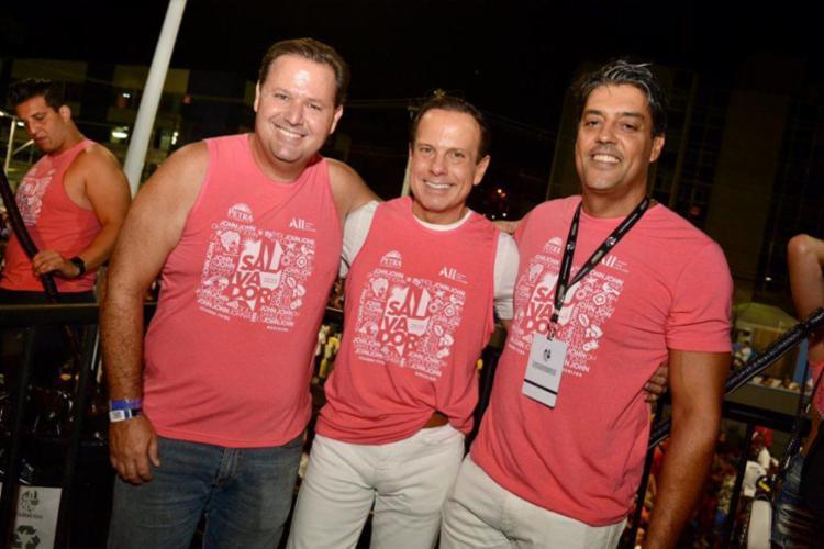 Doria tem se encontrado com amigos e parceiros | Foto: André Carvalho - Foto: André Carvalho