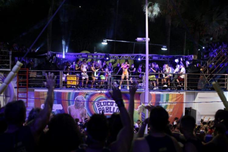 Pabllo Vittar preencheu a avenida com a música da diversidade | Foto: Reprodução - Foto: Reprodução