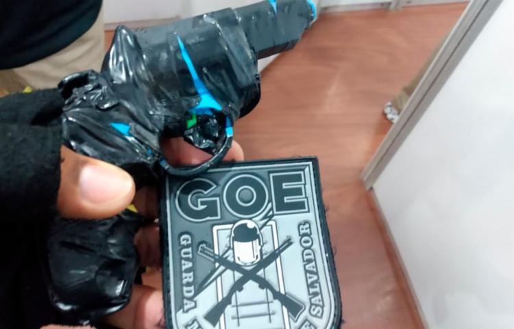 GOE foi acionado pela vítima, que teve celular roubado | Foto: Divulgação | Secom - Foto: Divulgação | Secom