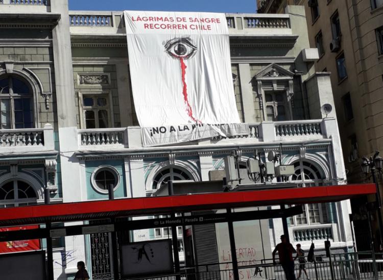 Construção em Santiago carrega bandeira da luta do povo | Foto: Thaís Seixas | Ag. A TARDE - Foto: Thaís Seixas | Ag. A TARDE