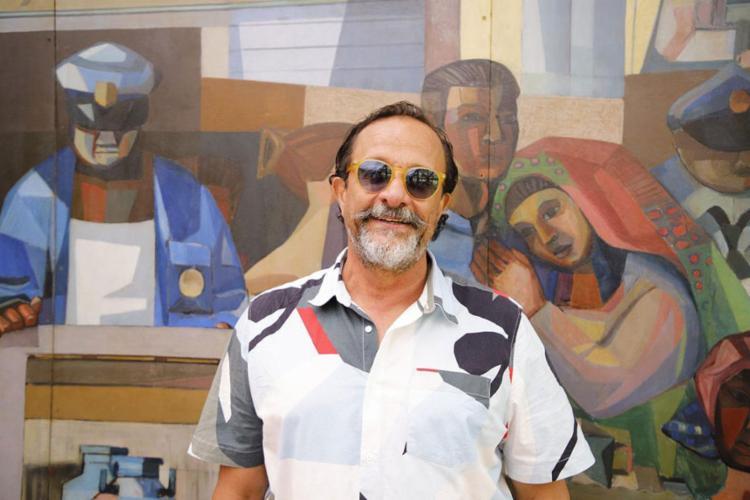 O artista plástico está em processo de produção de diversas novidades   Foto: Gabriel Alencar   Divulgação - Foto: Gabriel Alencar   Divulgação