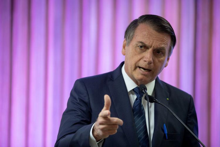 Presidente Jair Bolsonaro disse que perícia independente esclarecerá os fatos. Foto: Mauro Pimentel | AFP - Foto: Mauro Pimentel | AFP