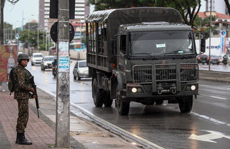 Dados foram divulgados pela secretaria de Segurança Pública estadual   Foto: Jarbas de Oliveira   AFP - Foto: Jarbas de Oliveira   AFP