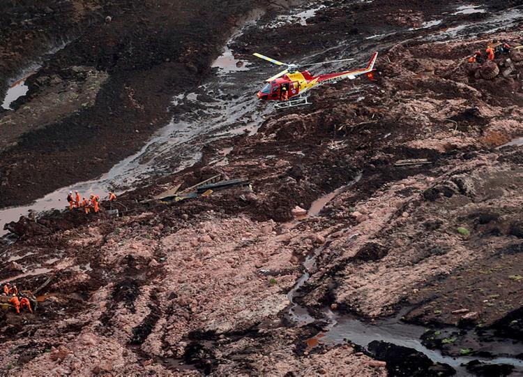 Segundo o relatório, a tragédia ocorreu por instabilidade estrutural com liquefação | Foto: Douglas Magno | AFP - Foto: Douglas Magno | AFP