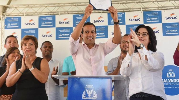 Projeto foi lançado pela prefeitura de Salvador nesta segunda, 27 | Foto: Divulgação | Secom-PMS - Foto: Divulgação | Secom-PMS