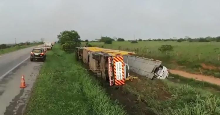 Não há detalhes sobre as causas do acidente