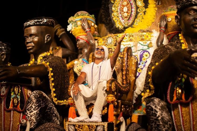A história de Carlinhos Brown serão contados no Sambódromo paulistano, no Anhembi, no domingo, 23   Iza Campos   Divulgação - Foto: Iza Campos   Divulgação