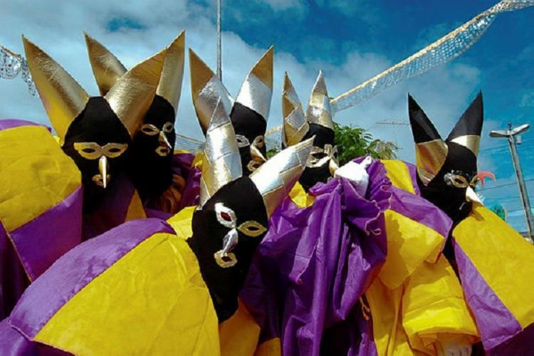 Um das festas mais tradicionais do interior da Bahia é o Carnaval de Maragogipe | Foto: Alessandra Lori | Ag. A TARDE - Foto: Alessandra Lori | Ag. A TARDE