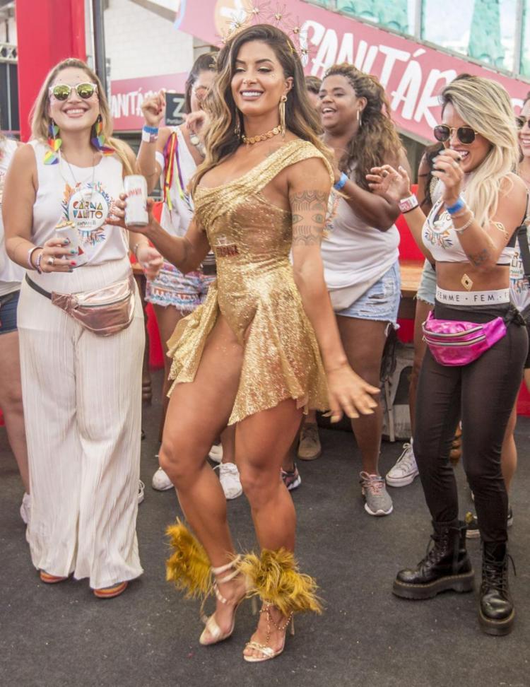 Aline Riscado marcará presença pelo segundo ano consecutivo no Carnavalito | Foto: Reprodução - Foto: Reprodução