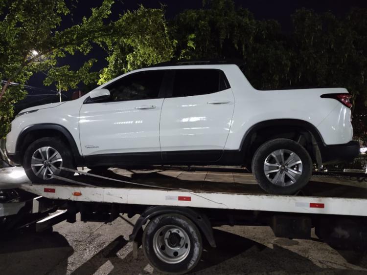 Carros foram apreendidos durante a operação | Foto: Divulgação | SSP - Foto: Divulgação | SSP