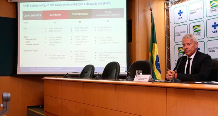Balanço foi divulgado pelo Ministério da Saúde nesta terça-feira   Foto: Erasmo Salomão   Ascom MS - Foto: Erasmo Salomão   Ascom MS