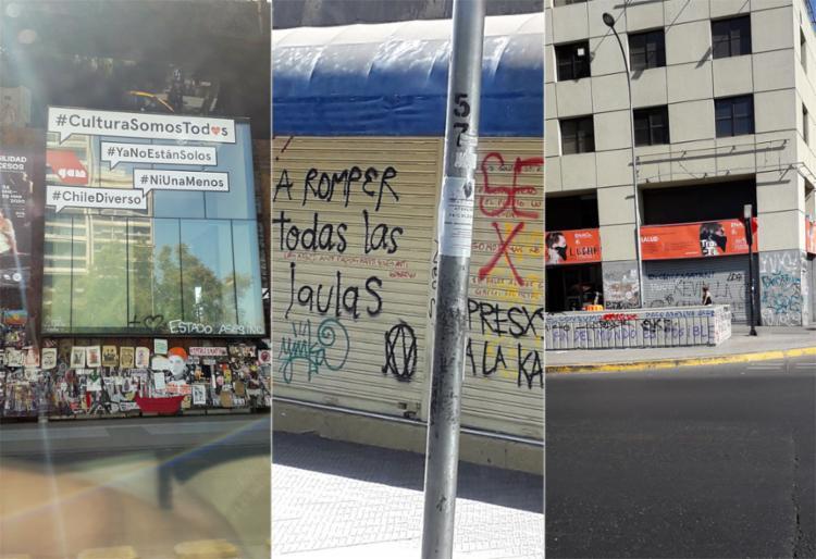 Palavras de ordem contra o governo ganham as ruas de Santiago | Fotos: Thaís Seixas | Ag. A TARDE