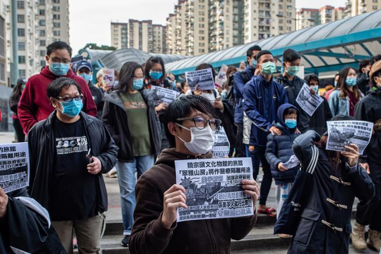 Comissão de saúde chinesa registrou um aumento de novos casos superior ao que vinha sendo registrado nos últimos dias   Foto: Philip Fong   AFP - Foto: Philip Fong   AFP