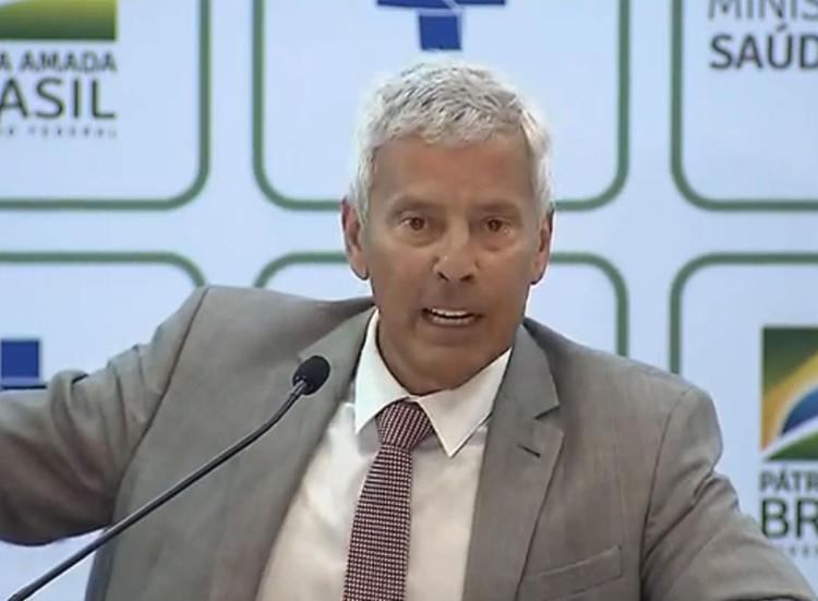 O secretário-executivo do Ministério da Saúde João Gabbardo Reis   Foto: Reprodução   TV Brasil - Foto: Reprodução   TV Brasil